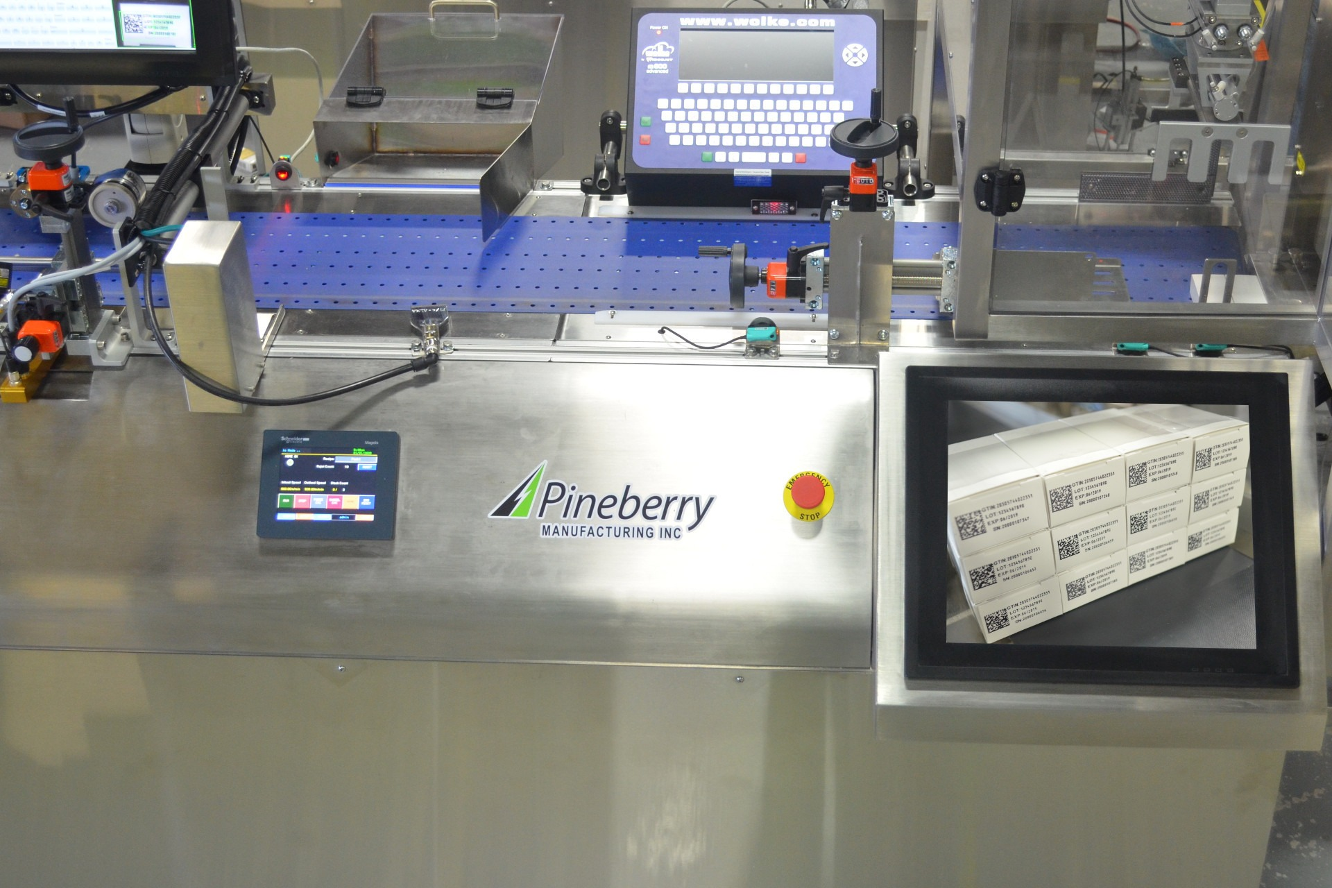 Pineberry Manufacturing Inc  - Friction Feeders, Packaging
